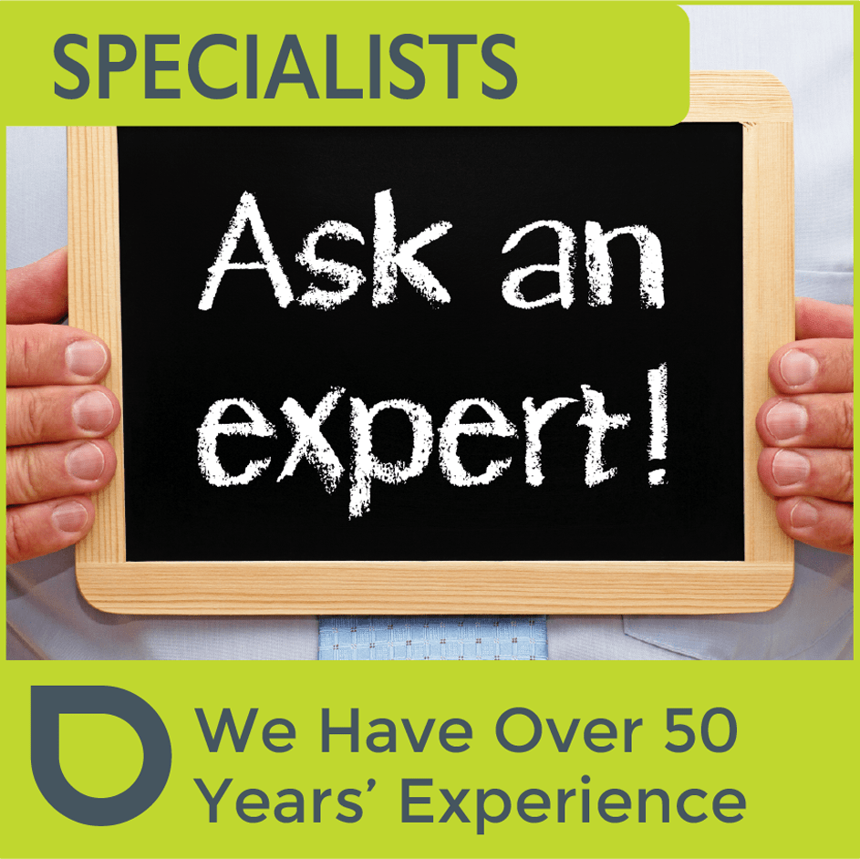We have over 50 years of experience