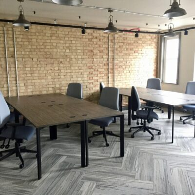 Shared Working Offices Desks and Chairs   Huddle Furniture
