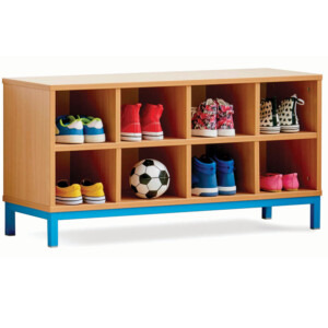 Bench With 8 Compartments