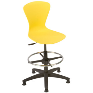 Crea Draughtsmans Chair On Glides